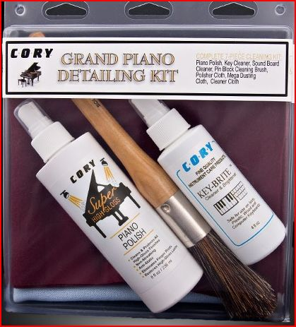Cory Grand Piano Detailing Kit - Lacquered Wood Pianos