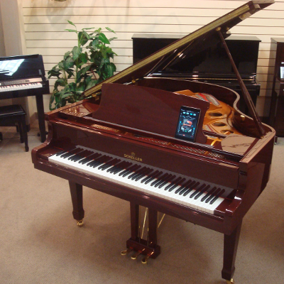 Schiller Performance Berlin Grand Piano with iPad Player Sytstem