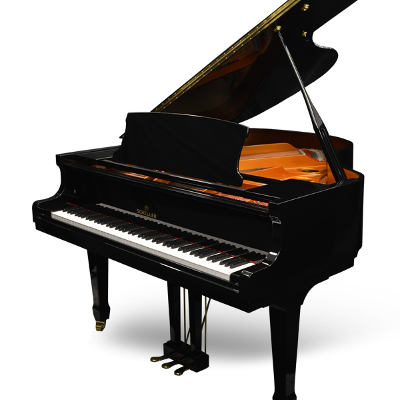 Schiller Performance Johann Gustav Grand Piano - Ebony Polish