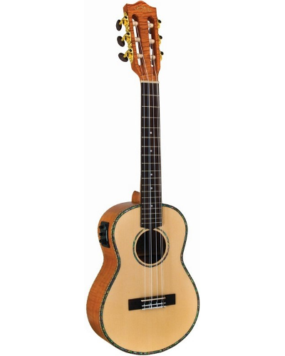 Lanikai Legacy Collection Spruce 6 String Acoustic Electric Tenor Ukulele
