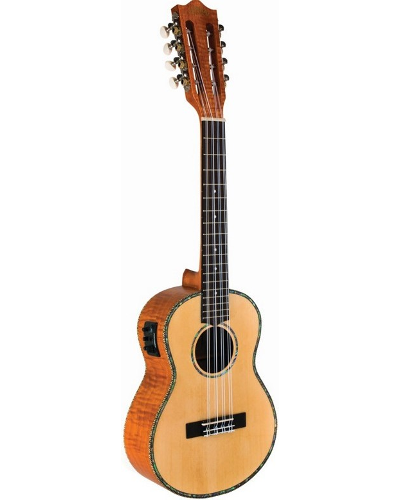 Lanikai Legacy Collection Spruce 8 String Acoustic Electric Tenor Ukulele