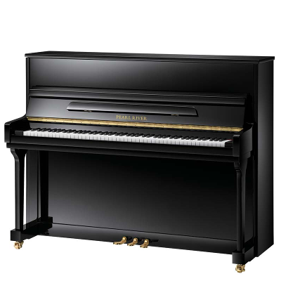 Pearl River Model UP115M5 Leg and Toe Studio Upright Piano