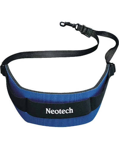 Neotech Soft Saxophone Regular Strap Blue