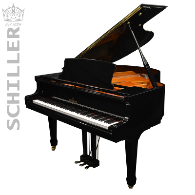 Schiller Performance Berlin Grand Piano - Ebony Polish