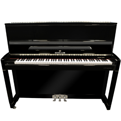 Schiller C48 Concert Upright Piano