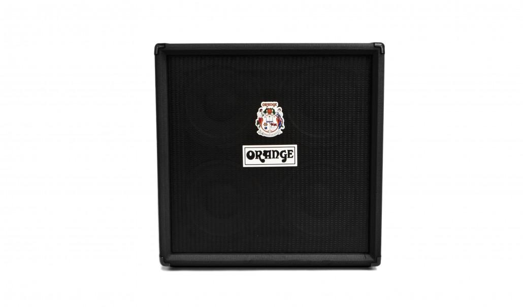 Orange OBC410H 4 x 10 Black Bass Guitar Speaker Cabinet