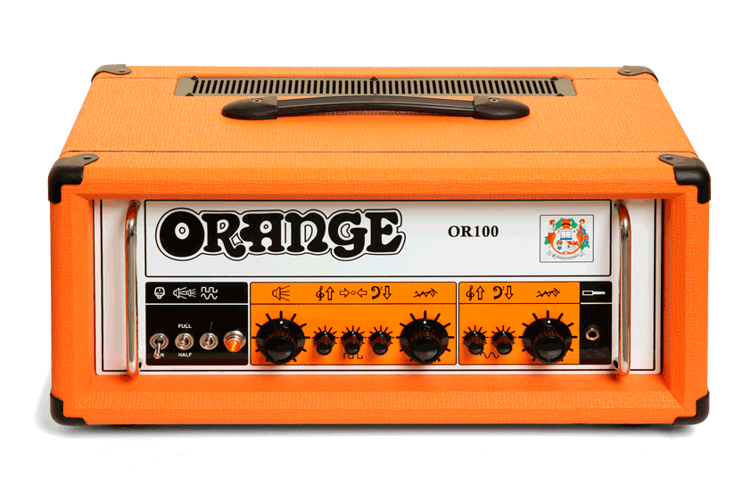 Orange OR100 100W Dual Channel Tube Guitar Head  Orange