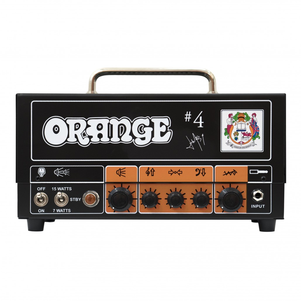 Orange Signature #4 Jim Root Terror Guitar Amp Head