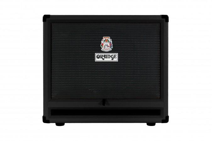 Orange OBC212 Black Isobaric Bass Guitar Speaker Cabinet
