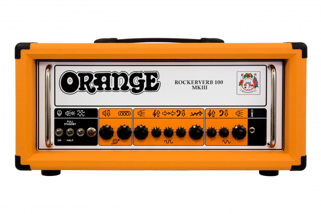 Orange Rockerverb 100 MKIII Black Guitar Amp Head