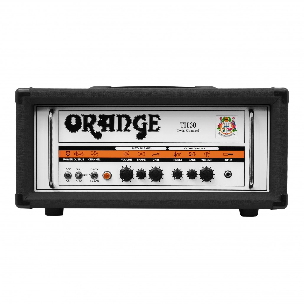 Orange TH30 H 30-Watt 2-Channel Black Guitar Tube Head
