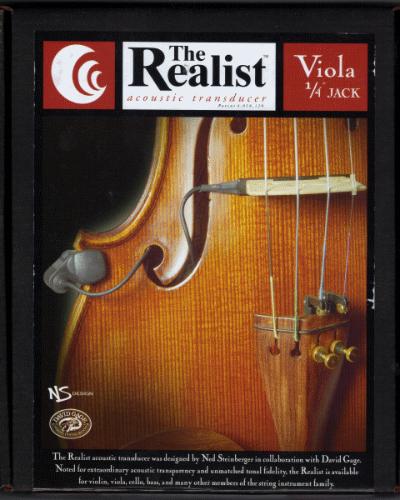 The Realist Viola Pickup