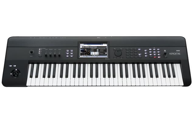 Korg - Krome 61-Key Workstation Keyboard - Black