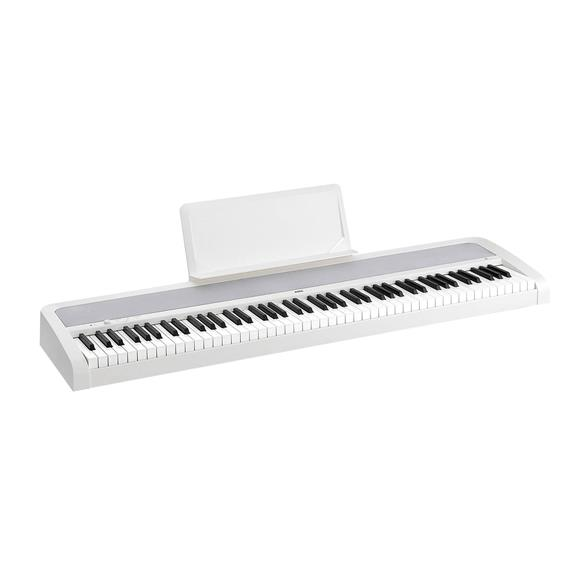 Korg B1-WH 88-Key Portable Digital Piano, Includes 10 Instrument Sounds, White