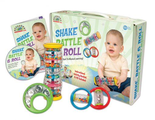 Hohner HO4002 Shake, Rattle & Roll Toddler Band Set
