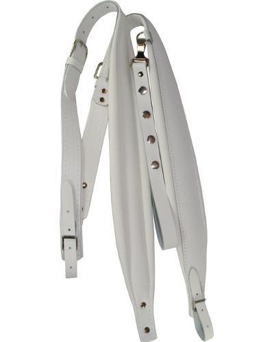 Excalibur Crown White Leather