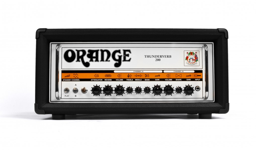 Orange Thunderverb 200 Black Guitar Amp Head