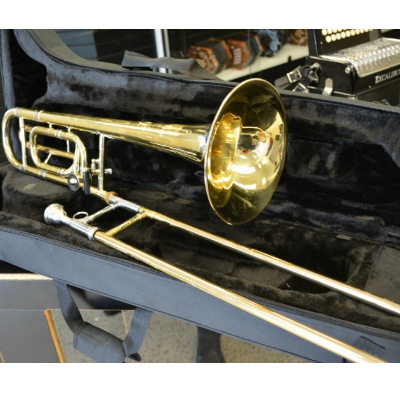 Bach Trombone with F attachment
