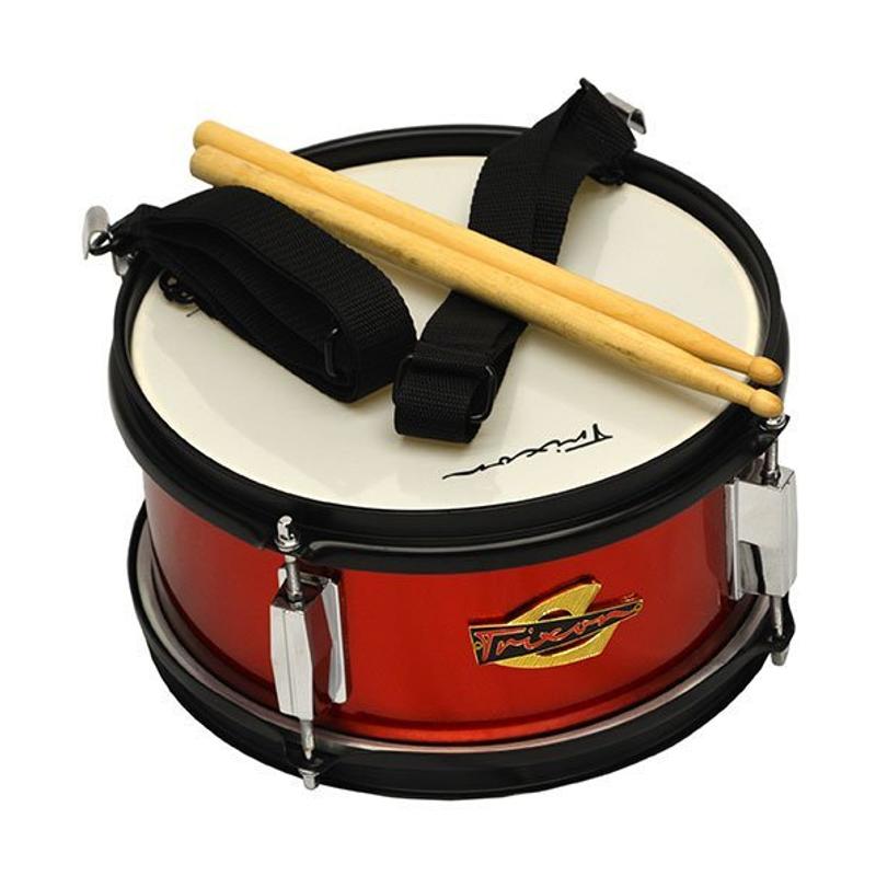 Trixon Junior Marching Snare Drum - Red Sparkle