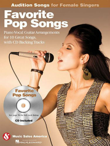 Favorite Pop Songs – Audition Songs for Female Singers Book and CD
