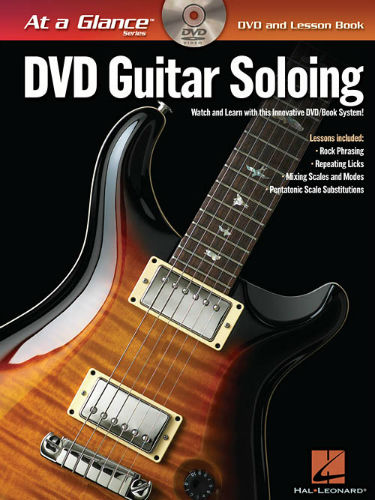Guitar Soloing Book and DVD