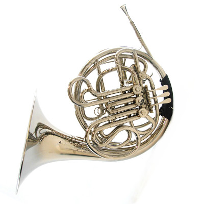Schiller American Heritage Nickel Plated French Horn