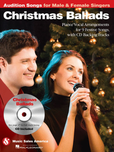 Christmas Ballads – Audition Songs for Male & Female Singers Book and CD