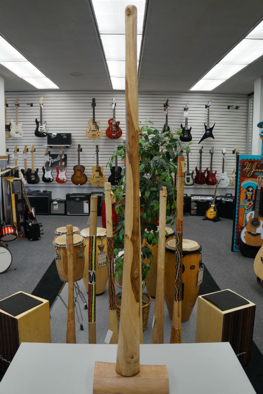 Didgeridoo Teak 59