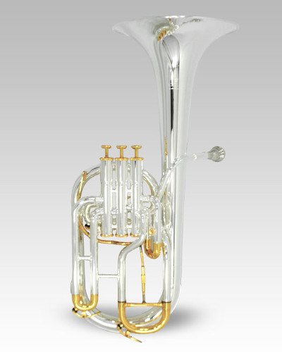 Schiller Edinburgh Elite Alto Horn Silver & Gold (Limited Edition)