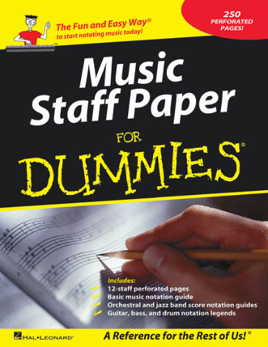 Music Staff Paper for Dummies® - Dummies Collections Series