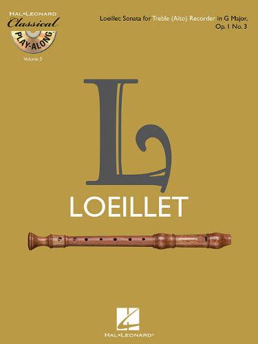 Treble (Alto) Recorder Sonata in G Major, Op. 1, No. 3 - Classical Play-Along Series Volume 3