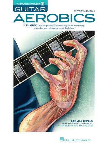 Guitar Aerobics Book and Online Audio