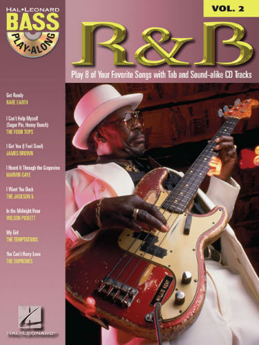 R&B - Bass Play-Along Volume 2 Book and CD