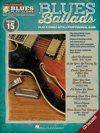 Blues Ballads - Blues Play-Along Volume 15 - Blues Play-Along Series