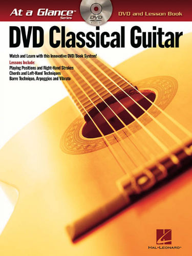 Classical Guitar Book and DVD