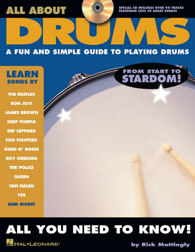 All About Drums Book and CD
