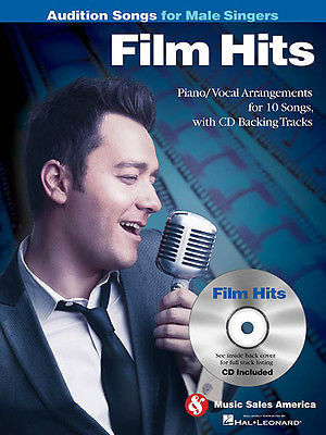 Film Hits – Audition Songs for Male Singers Book and CD