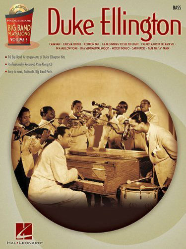 Duke Ellington – Bass - Big Band Play-Along Series Volume 3