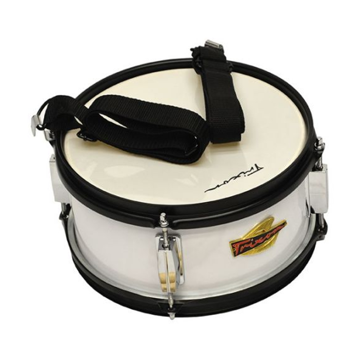 Trixon Junior Marching Snare Drum - White Polish