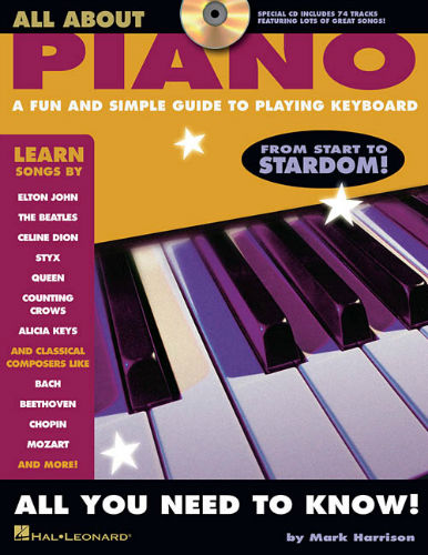 All About Piano Book and CD