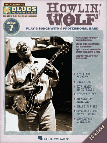 Howlin' Wolf - Blues Play-Along Volume 7 - Blues Play-Along Series