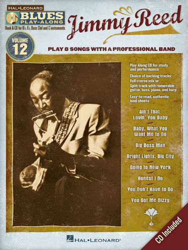 Jimmy Reed - Blues Play-Along Volume 12 - Blues Play-Along Series