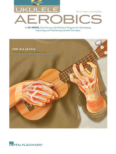 Ukulele Aerobics Book and Online Audio