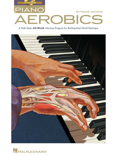 Piano Aerobics Book and Online Audio