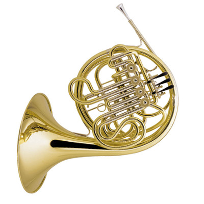 Amati Model AHR 345 Bb/F Full Double French Horn