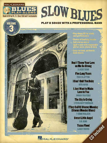 Slow Blues - Blues Play-Along Volume 3 - Blues Play-Along Series