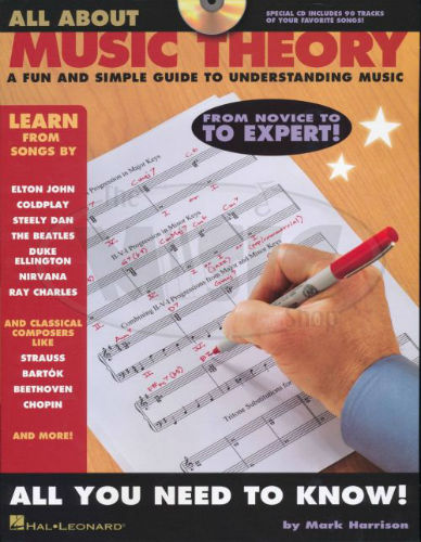 All About Music Theory Book and CD
