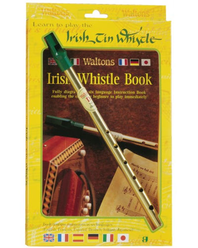 Waltons Irish Tin Whistle ( Key of D ) Twin Pack