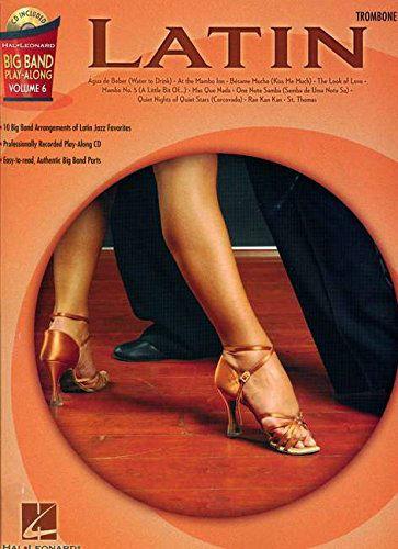 Latin – Trombone - Big Band Play-Along Volume 6