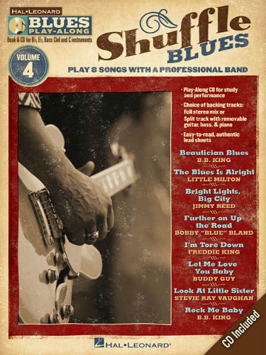 Shuffle Blues - Blues Play-Along Volume 4 - Blues Play-Along Series